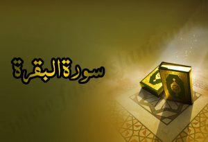 Introduction Of Surah Al baqarah