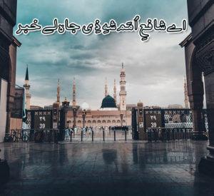 Ae Shafey Umam Shah e Zee Jah Le Khabar Naat Lyrics,Aqa khabar lijiye